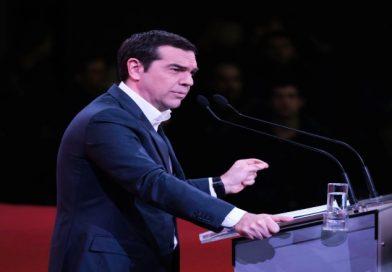 Τσίπρας : Αναβολή συνεδρίου, αλλά ανασυγκρότηση